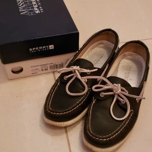 🆕️🍁Sperry Leather Top Sider A/O Boat Shoes